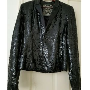Vintage Guess Sequined Blazer